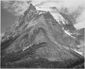 "Full view of mountain, ""Going-to-the-Sun Mountain, Glacier National Park,"" Montana., 1933 - 1942 - NARA - 519866.tif"