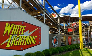White Lightning (roller coaster) roller coaster