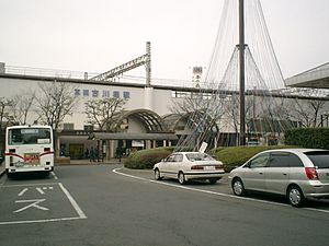 Furukawabashi Station - Furukawabashi Station, January 2006