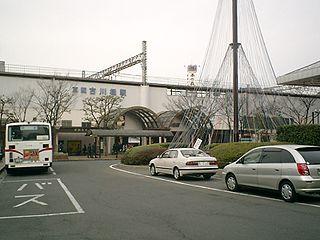 Furukawabashi Station railway station in Kadoma, Osaka Prefecture, Japan
