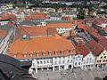 Güstrow Markt Blick von der Pfarrkirche St. Marien 2012-07-11 128.JPG