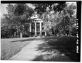 GENERAL VIEW; WEST (FRONT) ELEVATION - Talladega College, Swayne Hall, Talladega, Talladega County, AL HABS ALA,61-TALA,5A-1.tif