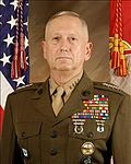 Retired Marine General James Mattis, President-elect Donald Trump's choice to become Secretary of Defense.