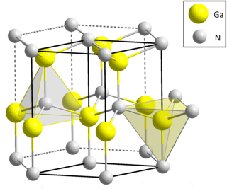 Gallium nitride chemical compound