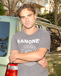 Johnny Galecki, 2007