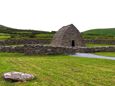 Gallarus Oratory, one of the earliest churches built in Ireland Gallarus Oratory - geograph.org.uk - 17678.jpg