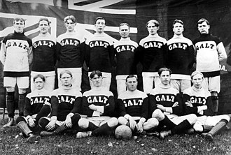 Canada men's national soccer team - The Galt F.C. represented Canada at the Summer Olympics