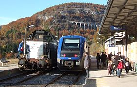 Image illustrative de l'article Gare de Morez