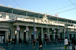 railway station in Montpellier, France