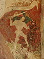 Gargilesse-Dampierre (36) Église Saint-Laurent et Notre-Dame Crypte Fresques 25.JPG