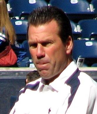 Gary Kubiak - Kubiak while head coach of the Houston Texans in 2008