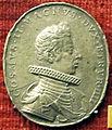 Gasparo mola, medaglia di cosimo II de' medici (e maria m. d'austria) forse in piombo.JPG