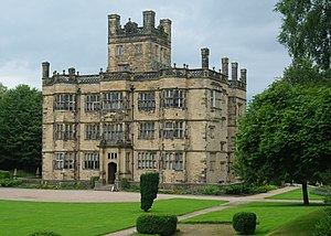 Listed buildings in Ightenhill - Image: Gawthorpe Hall geograph.org.uk 1758306