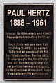Gedenktafel Heckerdamm 237 (CharN) Paul Hertz2.jpg