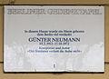 Gedenktafel Mommsenstr 57 (Charl) Günter Neumann.JPG
