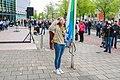 Geeft acht voor de vlag opening koningsdag Spijkenisse.jpg