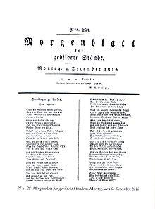Morgenblatt für gebildete Stände (Quelle: Wikimedia)