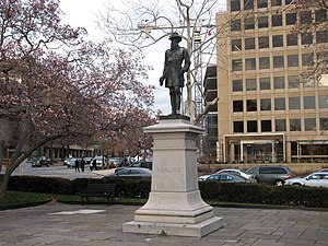 General John A. Rawlins - The sculpture in 2013