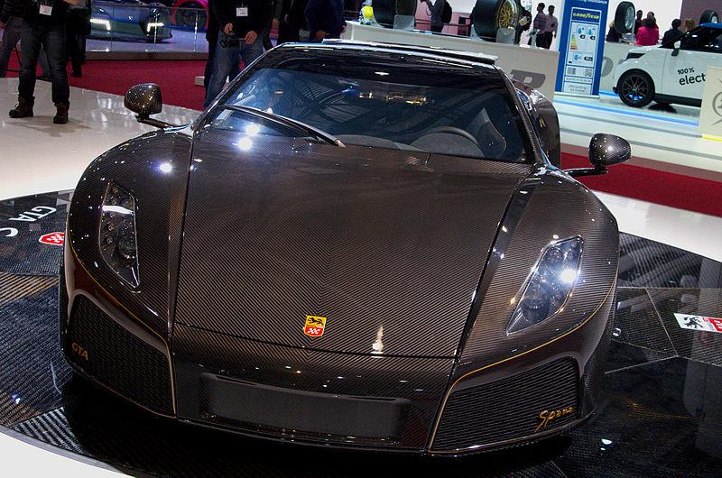 File:Geneva MotorShow 2013 - Spania GTA Spano front.jpg
