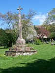 Churchyard Cross, 8 metres east of chancel, Church of St George