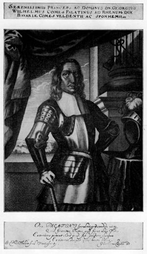 George William, Count Palatine of Zweibrücken-Birkenfeld - Count Palatine George William of Zweibrücken-Birkenfeld