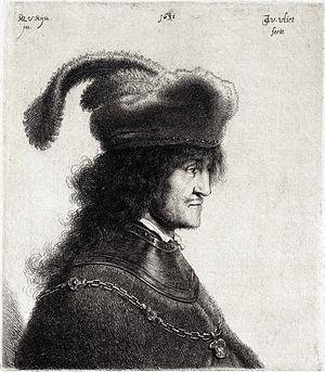 George I Rákóczi - Portrait by Rembrandt van Rijn and Jan Gillisz van Vliet