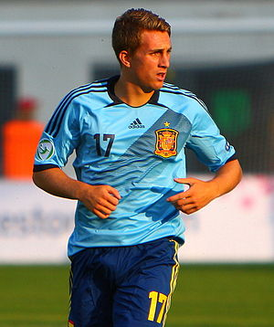 Gerard Deulofeu - Deulofeu playing for Spain at the European Under-19 Championship