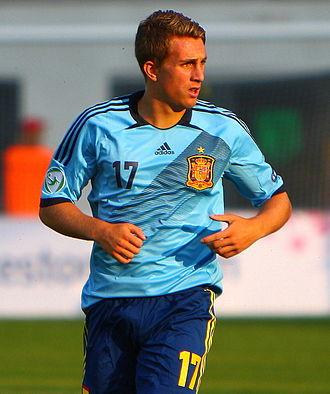 Gerard Deulofeu - Deulofeu playing for Spain at the European Under-19 Championship