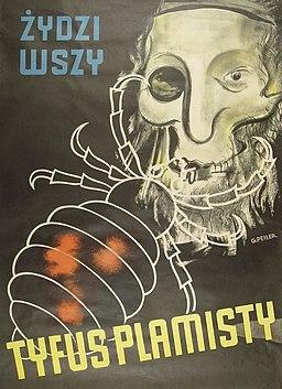 German antisemitic poster, 1942