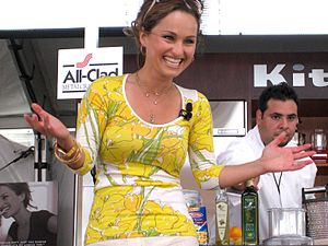 Giada De Laurentiis - South Beach Wine and Food Festival, 2007