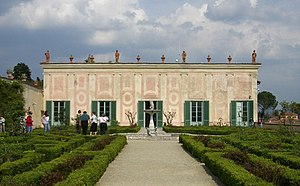 Garden Folly in the Boboli Gardens, Florence. ...