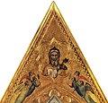 Giotto, eterno e angeli, forse cimasa del polittico baroncelli, san diego, fine arts gallery.jpg