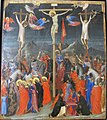 Giotto di bondone e collaboratore napoletano, crocifissione, 1328-1332 ca. 01.JPG
