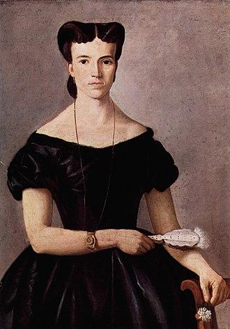 Giovanni Fattori - Lady with a Fan, 1865–66, oil on canvas, 90 x 63 cm