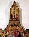 Giovanni del Biondo, incoronazone della vergine, 1374 ca. 03 crocifissione.jpg