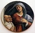 Girolamo da carpi, madonna con due monaci olivetani, dal convento di s. giorgio a ferrara.jpg