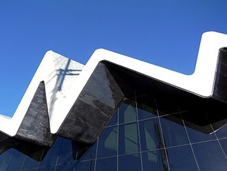 Riverside Museum - Detail of south elevation