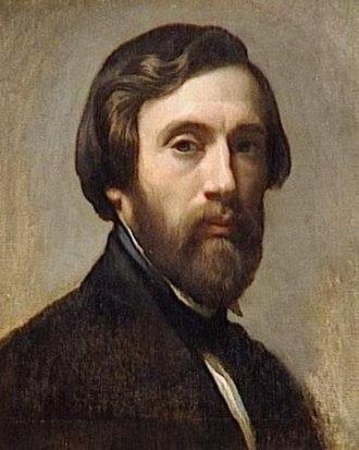 Charles Gleyre - Self-portrait