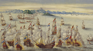 Battle of Goa (1638) - Sea battle off Goa between the Dutch and Portuguese fleets in 1638