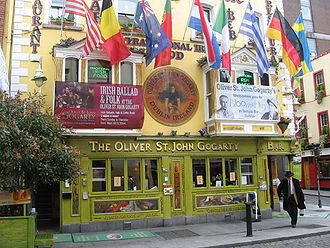 Temple Bar, Dublin - The Oliver St John Gogarty Pub in Temple Bar