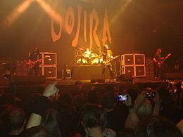 Gojira live at Unipol Arena, Bologna, December 9th, 2016.jpg