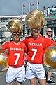Golden Balls - Big Haired Beckhams - Brighton Pride 2013 (9429149761).jpg