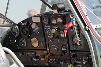 Bücker Bü 181 - Flight instruments of a Gomhouria 181 Mk6