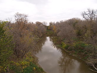 Goose River (North Dakota) - The Goose River in Caledonia, North Dakota