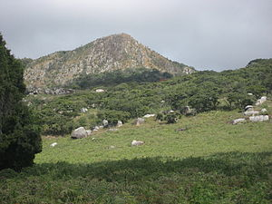 Sofala Province - Gogogo, the highest peak of the Gorongosa mountain complex