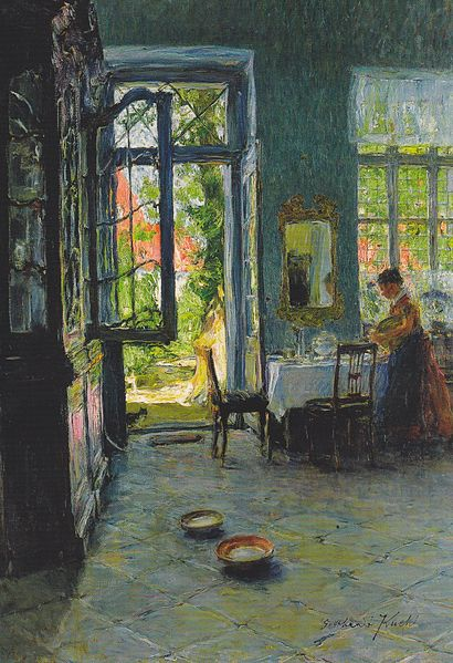 File:Gotthardt Kuehl Das Gartenzimmer c1897.jpg