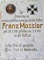 Grabtafel für Soldaten I. Weltkrieg, Gemeinde Wernberg, Kärnten.jpg