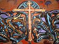 Graffiti Cross, Downtown San Francisco.jpg
