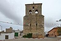Graja de Iniesta, Iglesia parroquial, espadaña.jpg