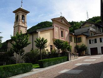 Grancia - The church of San Cristoforo in Grancia
